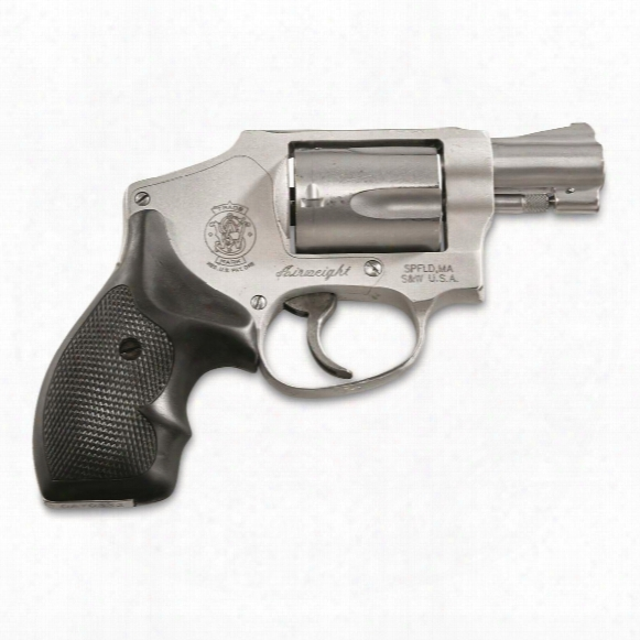 "Smith & Wesson Model 642, Revo Lver, .38 Special +p, 1.875"" Barrel, 5 Rounds, Used Police Trade-in"