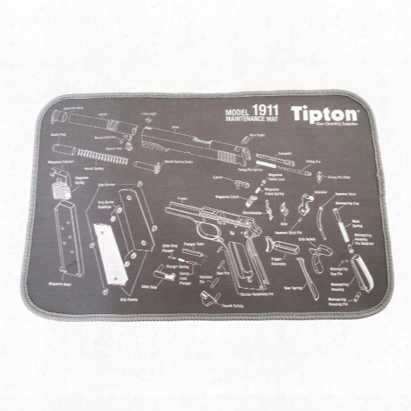 "Tipton 1911 Model Maintenance Mat, 11"" X 17"""