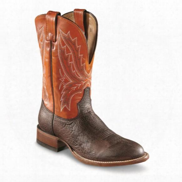 Tony Lama Men's Omaha Round Toe Western Boots