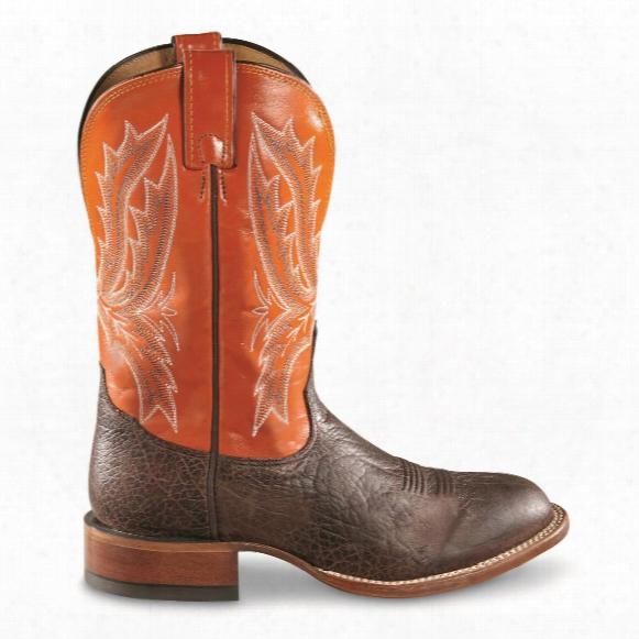 Tony Lama Men's Omaha Square Toe Western Boots