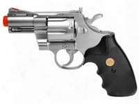 Uhc 939 2.5 Inch Barrel Revolver, Silver/black
