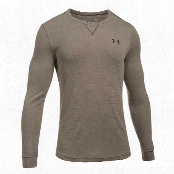 Under Armour Men's Lightweight Waffle Crew Shirt