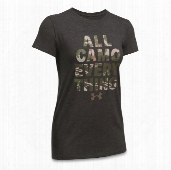 Under Armour Women's All Camo Everything Shirt