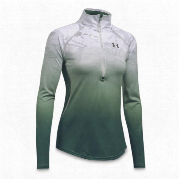 Under Armour Women&amp ;amp;#39;s Camo Fade Tech Quarter Zip Pullover Sweater