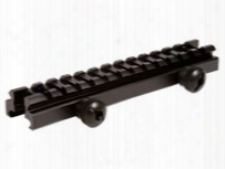 "Utg 13-slot Low-profile Full Size Riser Mount, 0.5"" High"