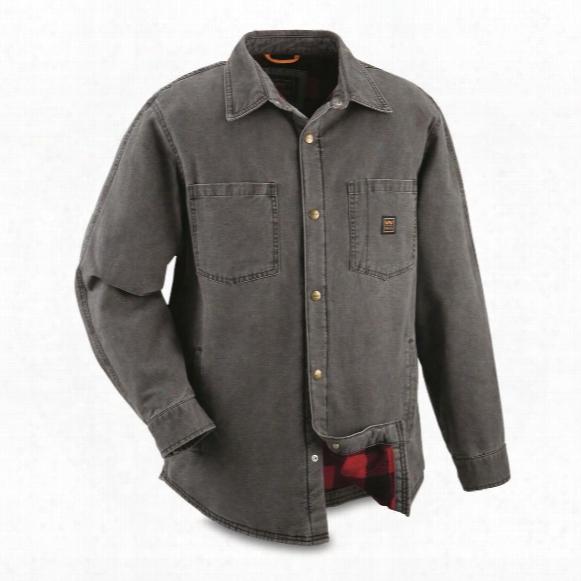 Walls Men's Bandera Lined Duck Shirt Jacket