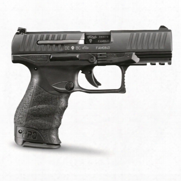 "Walther Ppq M2, Semi-automatic, 9mm, 4"" Barrel, 15+1 Rounds"