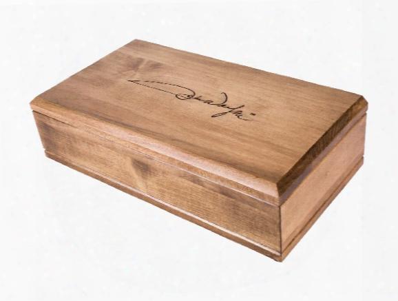 Western Justice John Wayne Signature Wood Case