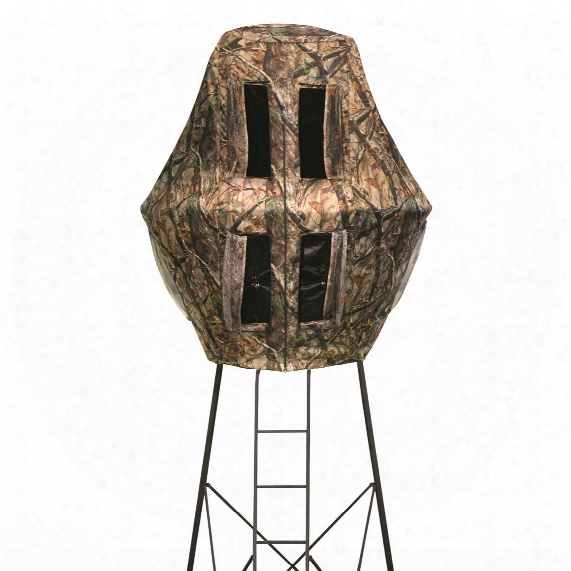 X-stand The Alcatraz 16' Tripod With Full-enclosure Hunting Blind