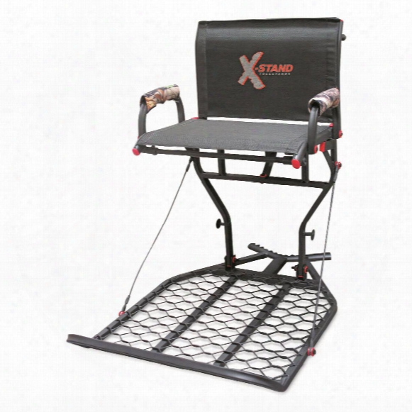 X-stand The Patron Hang-on Tree Stand With Backrest