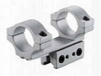 """Bkl 1-pc Mount, 3"""" Long, 1"""" Rings, 3/8"""" Or 11mm Dovetail, Silver"""