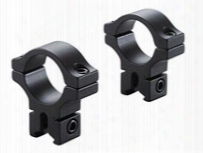 "Bkl 1"" Rings, 3/8"" Or 11mm Dovetail, Matte Black"