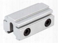 "Bkl 3/8"" Or 11mm Tri-mount Dovetail Riser Mount, 1-5/8"" Long, Silver"