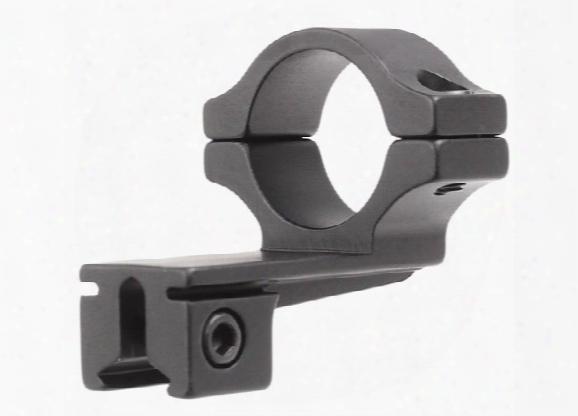 "Bkl Single 1"" Offset Ring, 3/8"" Or 11mm Dovetail, 0.60"" Long, Medium, Black"