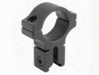 "Bkl Single 1"" Ring, 3/8"" Or 11mm Dovetail, 0.60"" Long, High, Black"