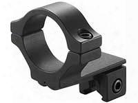 "Bkl Single 30mm Single Strap Offset Ring, 3/8"" Or 11mm Dovetail, .60"" Long, Medium, Black"