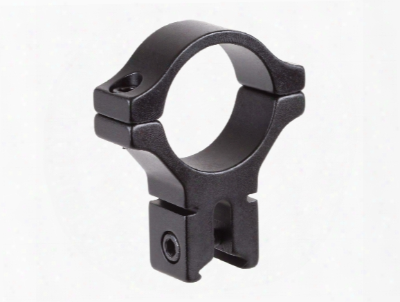 "Bkl Single 30mm Single Strap Ring, 3/8"" Or 11mm Dovetail, .60"" Long, High, Black"
