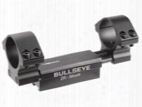 "Bullseye Zr 1-pc Mount, 1"" Rings, 11mm Dovetail, 0.04"" Droop Compensation, Recoil Compensation"