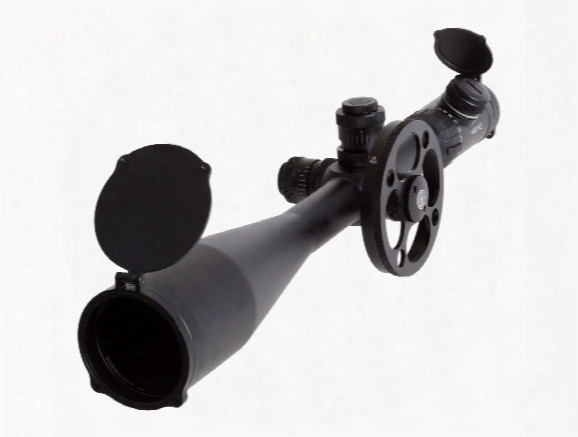 Hawke Sport Optics 10-50x60 Ed Sidewinder Rifle Scope, Illuminated Etched Glass Tmx Reticle, 1/4 Moa, 30mm Tube