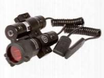 Laser & Flashlight Kit, Weaver Mount, Remote Pressure Switches