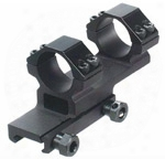 """Leapers Accushot 1-pc Offset Mount W/1"""" Rings, Weaver/picatinny Moubt"""