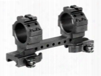 Leapers Utg 1-pc Mount, 30mm Rings, High, 130mm Base, 2 Top Slots, Weaver/picatinny Mount