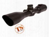 Leapers Utg 1.5-6x44 Accushot Rifle Scope, Ez-tap, Ill. Mil-dot Reticle, 1/4 Moa, 30mm Tube, Weaver Rings