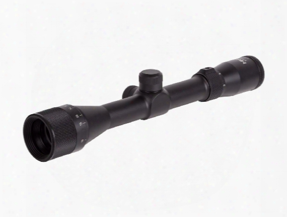 "Mantis 3-9x32 Ao Rifle Scope, Mil-dot Reticle, 1/4 Moa, 1"" Tube"