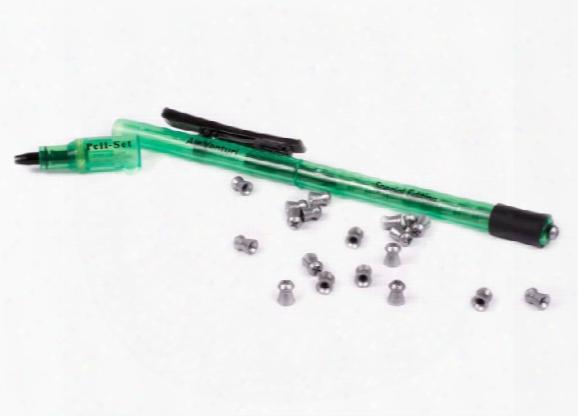 Pellet Pen Wiht Pellet Seater, Loads & Seats .22 Cal Pellets