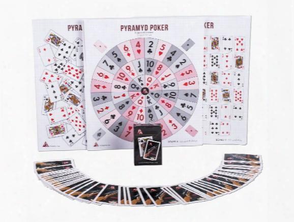 Pyramyd Air Poker Game, 5 Game Boards