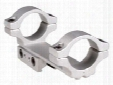 "BKL 1-Pc Mount, 4"" Long, 1"" Rings, 3/8"" or 11mm Dovetail, Silver"