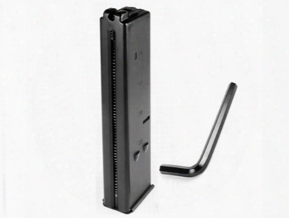 Umarex Uzi Co2 Bb Submachine Gun Mag, 25rd
