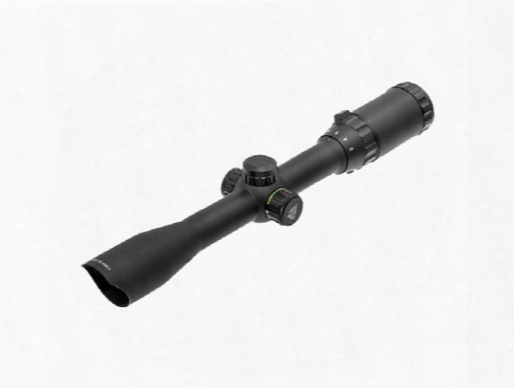 "Utg 3-9x32 Hunter Rifle Scope, Illuminated Mil-dot Reticle, 1/4 Moa, 1"" Tube, 11mm Dovetail Rings"