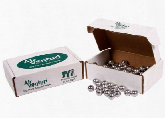 Air Venturi .45 Cal, 143 Grains, Round Ball, 100ct