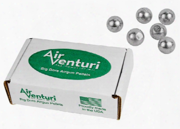 Air Venturi .50 Cal, 177 Grains, Round Ball, 100ct
