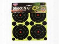 "Birchwood Casey Shoot-n-c 3"" Targets, 48 Bullseye Targets, 120 Pasters"