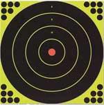 "Birchwood Casey Shoot-n-c Bullseye Targets, 12"", 5 Targets + 120 Pasters"