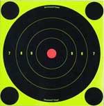 "Birchwood Casey Shoot-n-c Targets, 8"" Bullseye, 30 Targets + 120 Pasters"