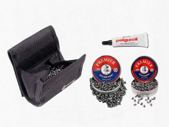 Crosman Premier Pellet Kit, .22 Caliber
