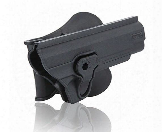 "Cytac 1911-5"" Paddle Polymer Holster For Colt 1911 Air & Airsoft Pistol, Black"