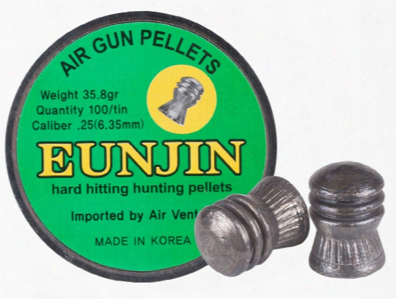 Eun Jin .25 Cal, 35.8 Grains, Domed, 100ct