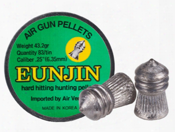 Eun Jin .25 Cal, 43.2 Grains, Pointed, 83ct