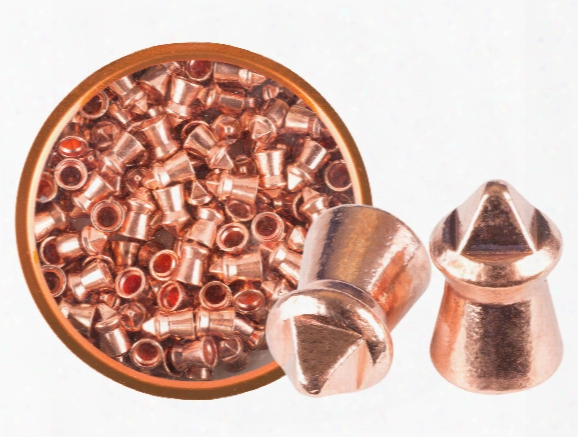 Gamo Luxor Cu Hunting Pellets, .22 Cal, 9.80 Grains, Pointed, 100ct