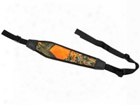 "Grovtec Gun Sling, Padded, True Timber Hunter Orange, 48"" Long"