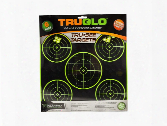 "Hatsan Truglo 5 Target Pack, 12"" Targets, 6ct"