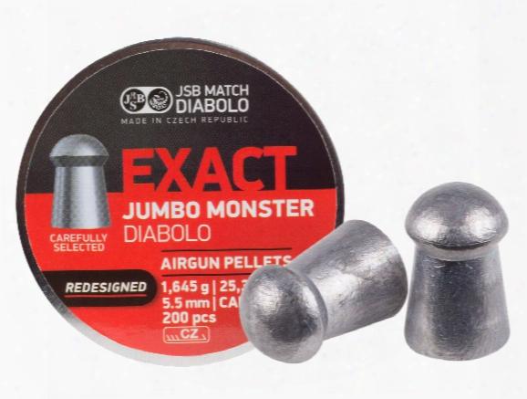 Jsb Redesigned Monster Pellets .22 200 Ct.