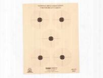 """Kruger Nra 5 Meter Bb Gun Target, 8.5""""x11"""", 100ct"""
