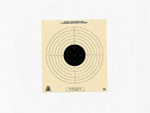 National Target Single Bull Center Air Pistol Target
