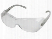 Radians Sheath Otg Anti-fog Safety Glasses, Fits Over Glasses, Clear Lens, Silver Temples