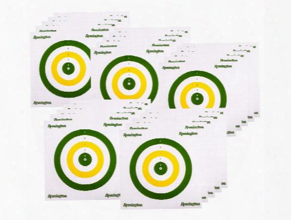 Remington Airgun Cardstock Field Targets, 25-pack